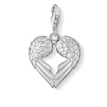 CC613/ Wings Heart Shaped Thomas Sabo Charm
