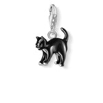CC701/ Black Cat Thomas Sabo Charm