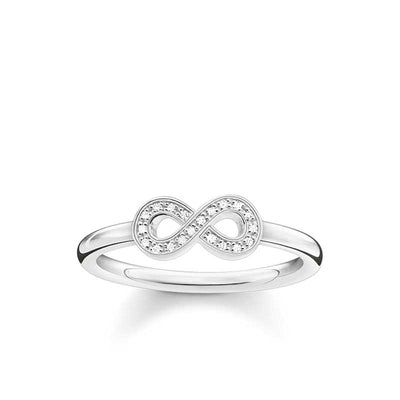 DTR0001/ Thomas Sabo Infinity Diamond Ring