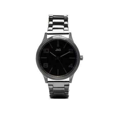 J1900A/ MITCHELL BLACK DIAL BLACK B/LET WATCH