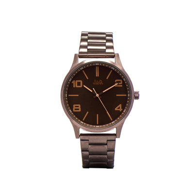 J1901A/ MALCOM BROWN DIAL BROWN B/LET