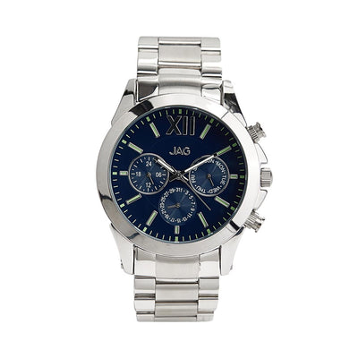 J2016A/ HUGO BLUE DIAL SILVER STAINLESS STEEL B/LET WATCH