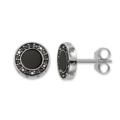 TH1861BCZ/ ONYX Black CZ Stud Earrings