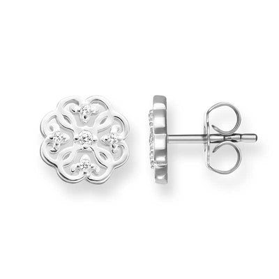 TH1881CZ/ Thomas Sabo Arabesque Mini CZ Stud Earrings