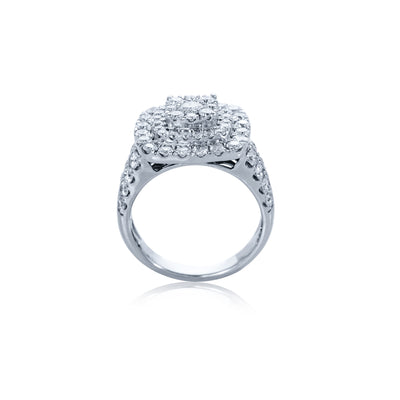 Verve 10k diamond dress ring
