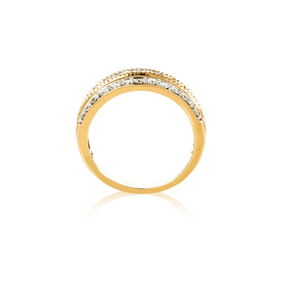 Verve 10K Fashion Dress Ring