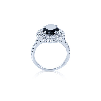 Verve 18K Dress Ring-Engagement Ring