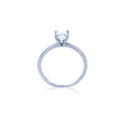 Verve 14K 0.75 Princess Cut Solitaire