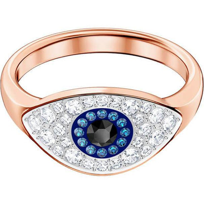 swarovski Due evil eye ring