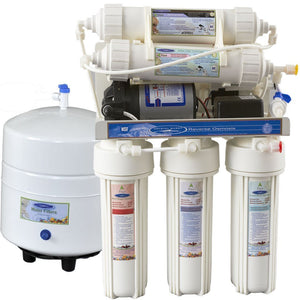 12 Stages of Filtration [Crystal Quest Reverse Osmosis Under Sink Water Filter] 1000CP