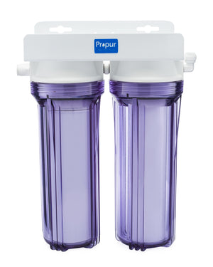 Propur / Under Sink / 2 Stage / Removes 90.0% Fluoride / Removes 200+ Contaminants / 1 Year Limited Warranty