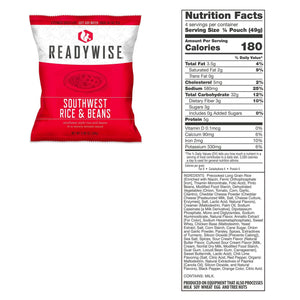 ReadyWise [2160 Servings] Full Delicious Meals [Emergency Disaster Storable Food Prep]