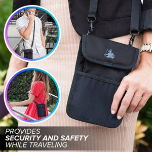 ConcealShield Privacy Bag – EMF Protection + RFID Blocking Pouch (by DefenderShield)