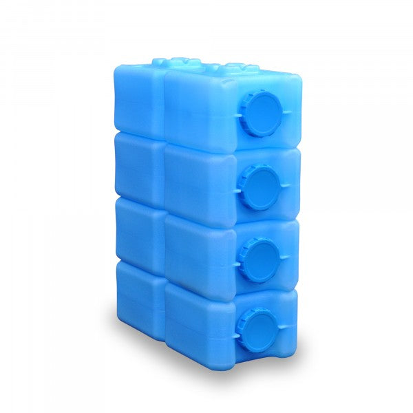 """Water Brick"" Storage Containers x4 /  BPA Free / Stackable / 14 Gallons Total (by ReadyWise)"