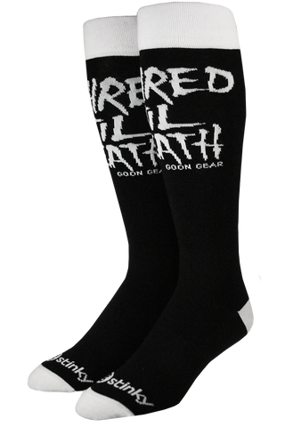 Stinky socks X goon gear shred til death sock