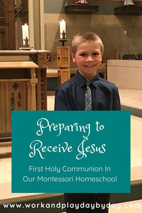 Montessori First Holy Communion Preparation Supplement Printables