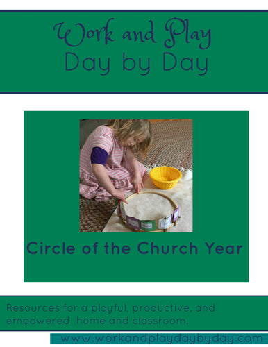 Circle of the Church Year Liturgical Timeline