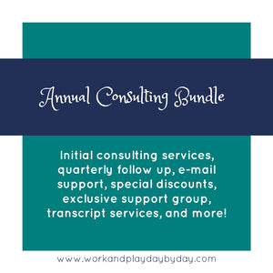 Best Value!  Annual Consulting Membership