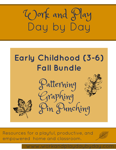 Early Childhood Fall Bundle