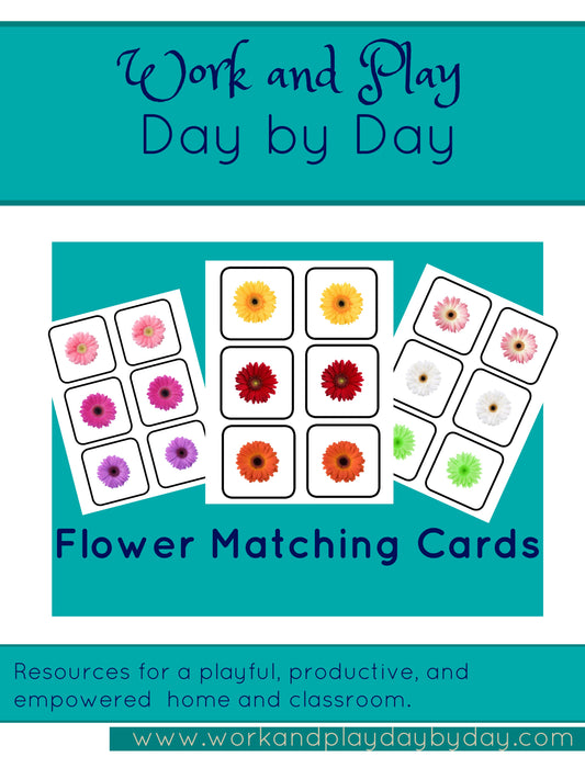 Flowers Matching Game