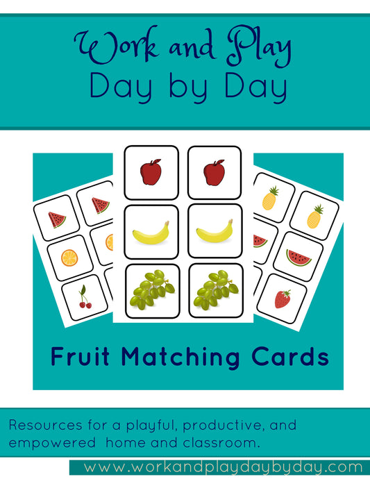 Fruit Matching Game