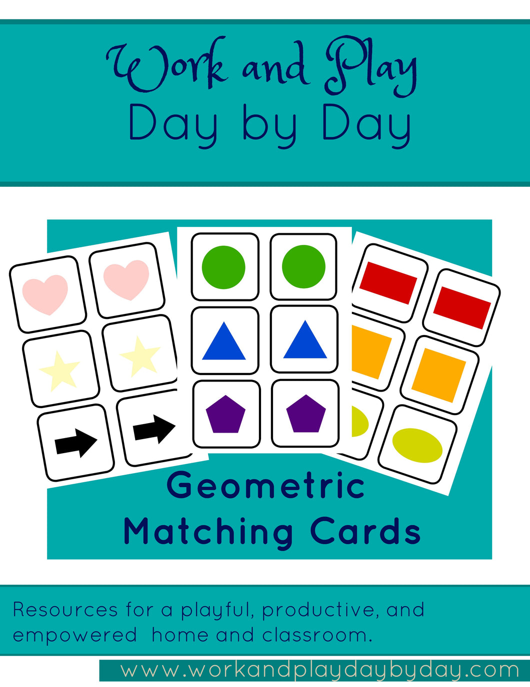 Geometric Shapes Matching Game