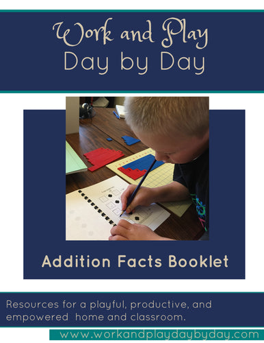 Basic Facts First- Addition Booklet