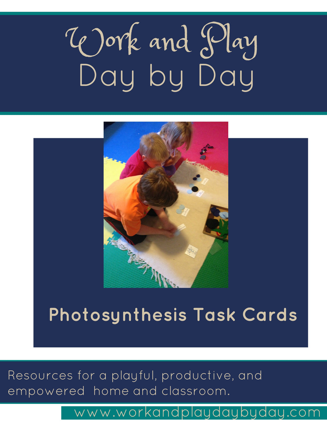 Photosynthesis Materials with Task Cards