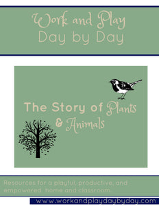 Early Stories of Science: The Story of Plants and Animals