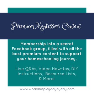 Premium Montessori Content Group
