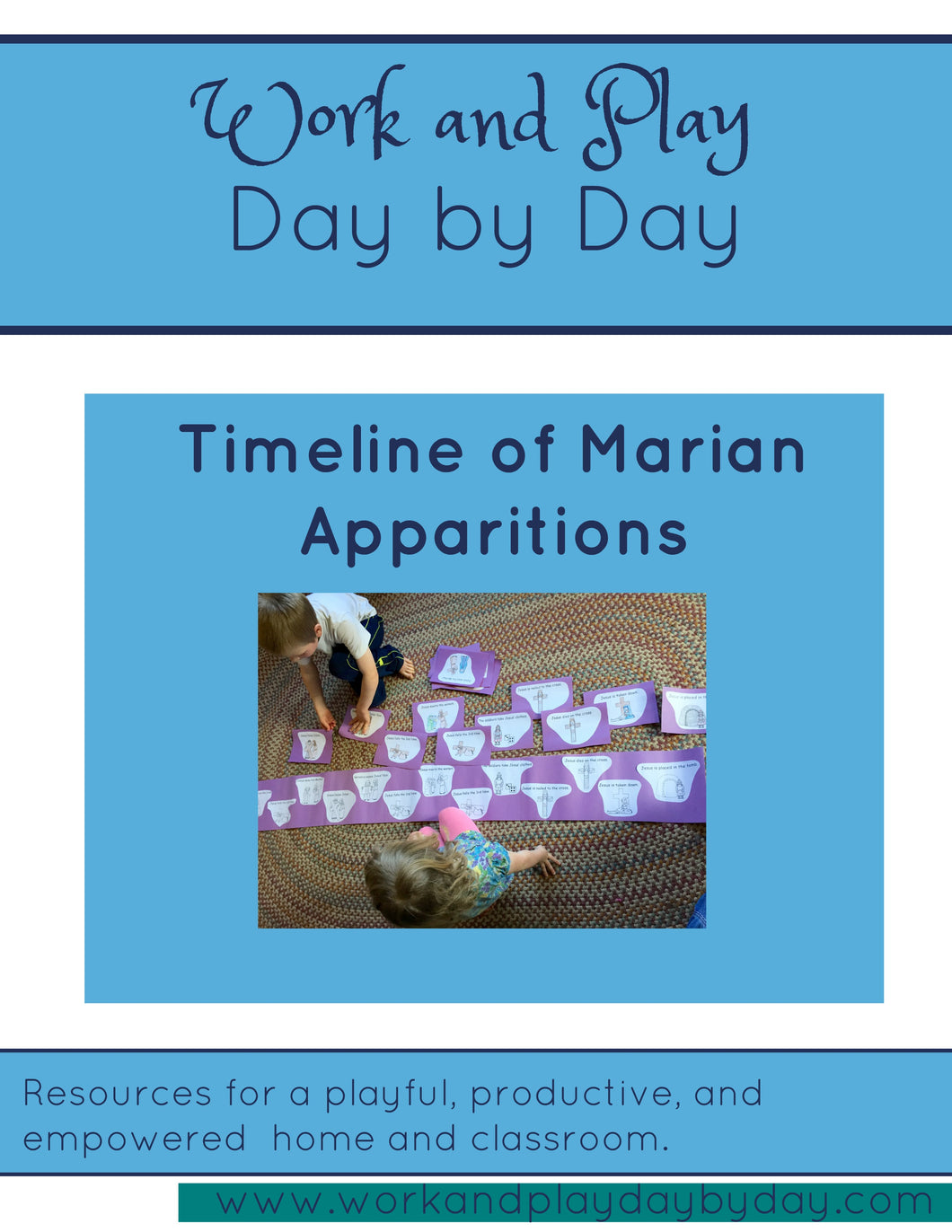 Montessori Style Timeline of Marian Apparitions