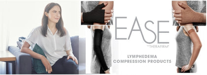 EASE Lymphedema Arm Sleeves, Gauntlets and Gloves
