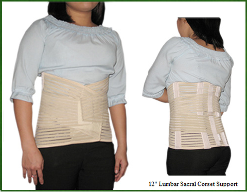 "Lumbar Sacral Support (12"" Height)"