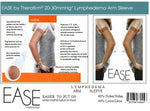 EASE LYMPHEDEMA 20-30mmHg Moderate Compression Arm Sleeve