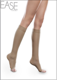 EASE SHEER 15-20mmHg Knee High Open Toe