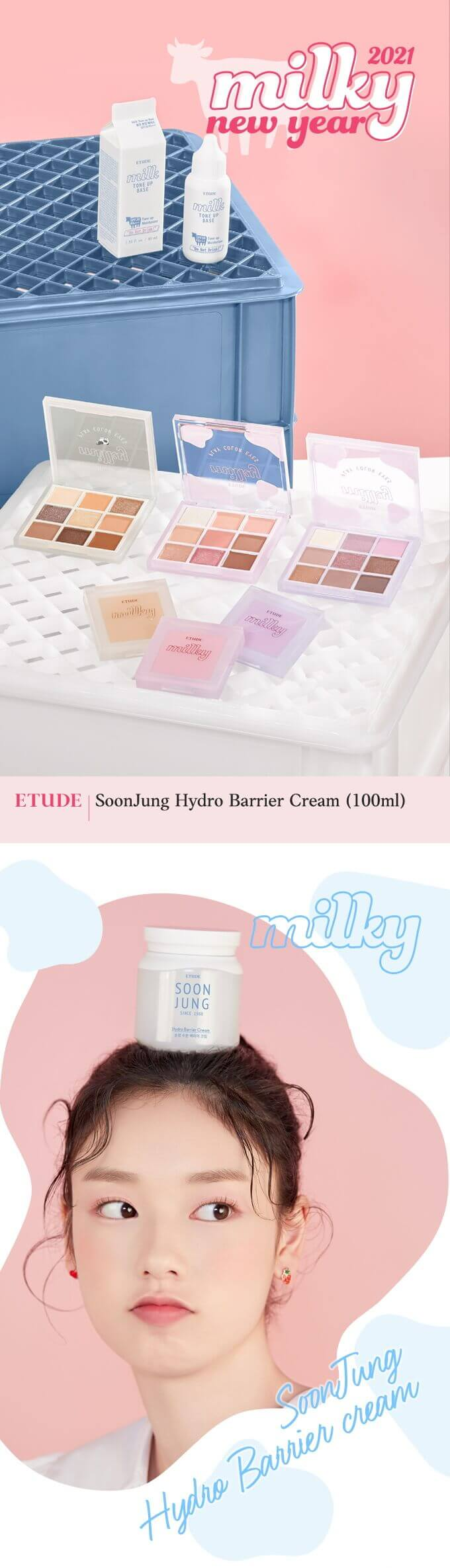 SoonJung Hydro Barrier Cream #Milky Collection