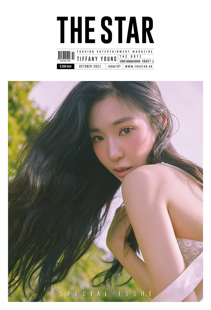 THE STAR October Issue (Front Cover: Front Cover: Girls' Generation Tiffany Young, Back Cover: The Boyz)