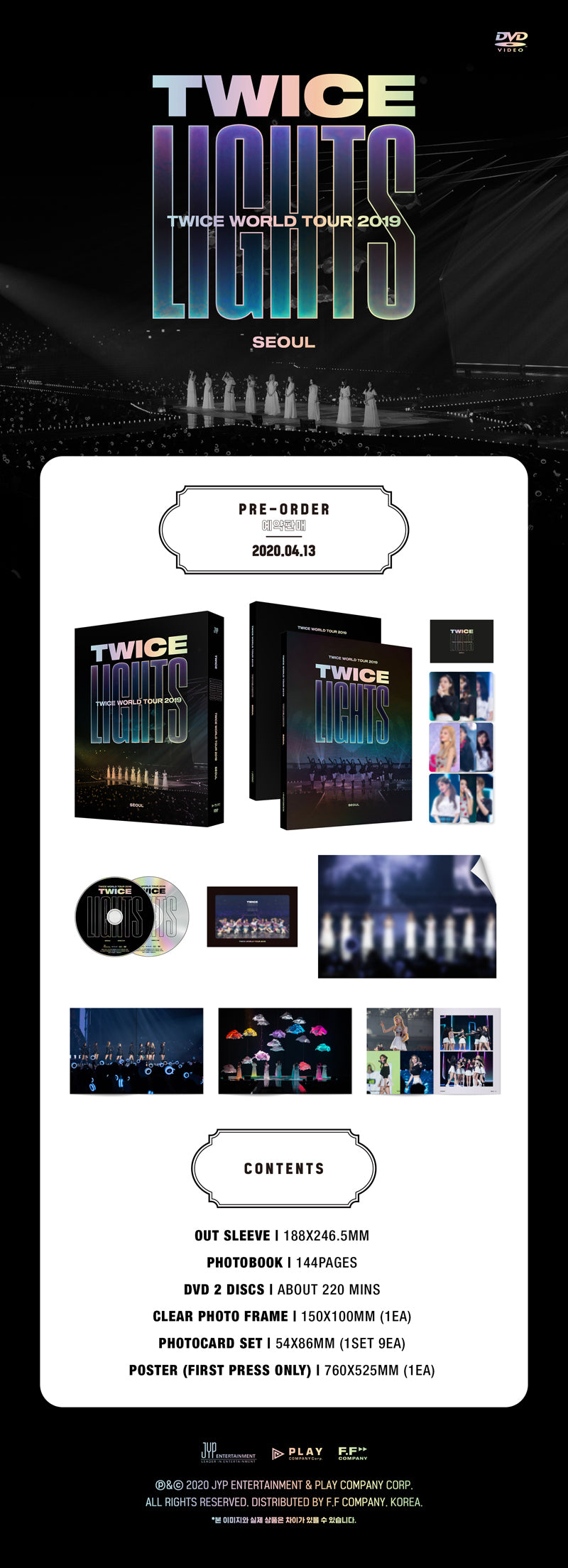TWICE - 2019 World Tour 'TWICELIGHTS' in Seoul (DVD)