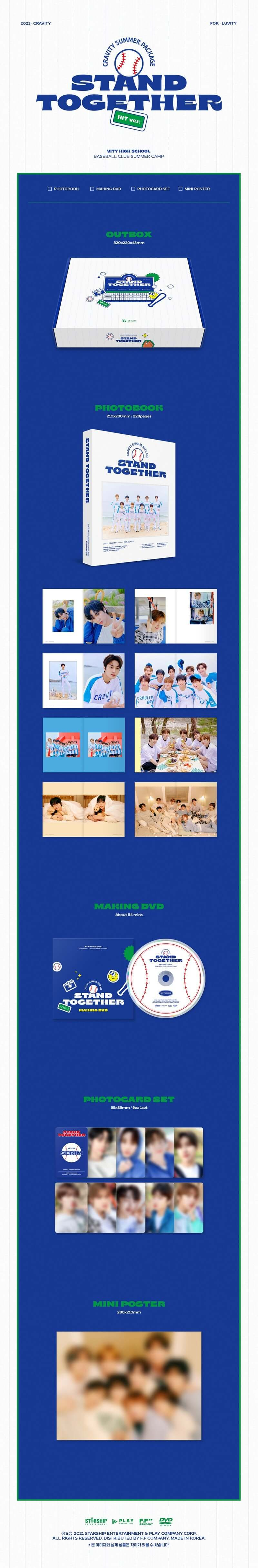 CRAVITY 2021 Summer Package Stand Together (HIT Ver.)