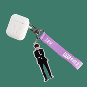 BTS WORLD Strap Keyring