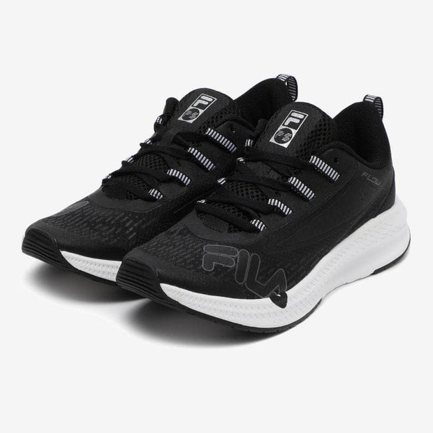 FILA x BTS GO BEYOND Wavelet Alpha Shoes (Black / White / Black)