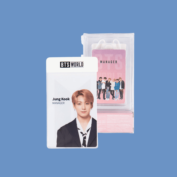 BTS WORLD Manager Card Set