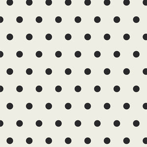 Chickadee Cover All Black & White Spotted Bubbles