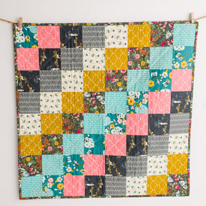 Art Gallery Fabrics Bari J Emmy Grace Patchwork Mini Quilt