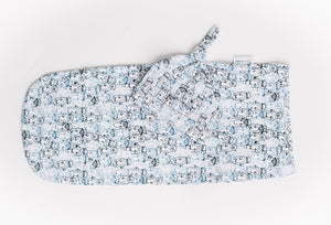 Swaddle Pod in Snuggery Breeze Otters Pine Lullaby