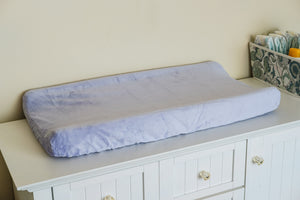 Contoured Changing Pad Cover in Lavender