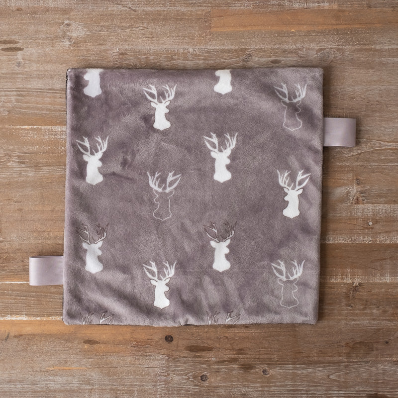 """Graphite Antlers 14"""" Lovey"""