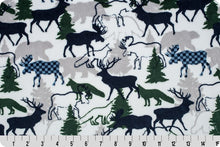 Fitted Crib Sheet in Navy Forest Park