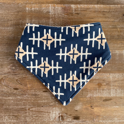 Bandana Bib in Path Maker Slate