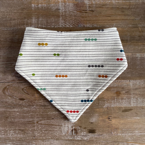 Bandana Bib in Multi Abacus